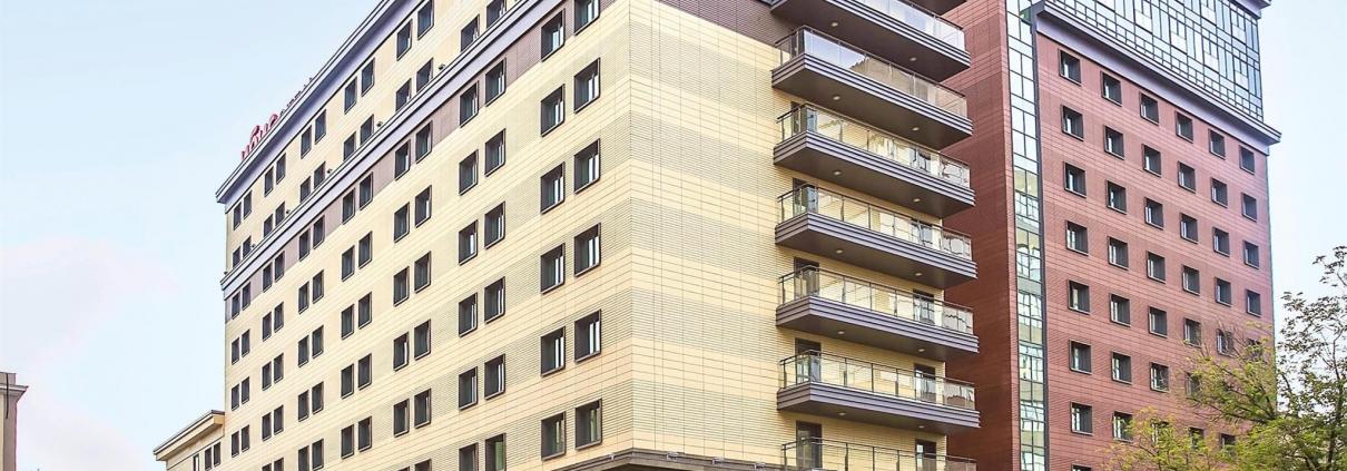 Элементы ФЭС для отеля IBIS Бахрушина.