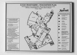заказать план эвакуации для номера гостиницы