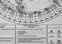 Люминесцентный план эвакуации
